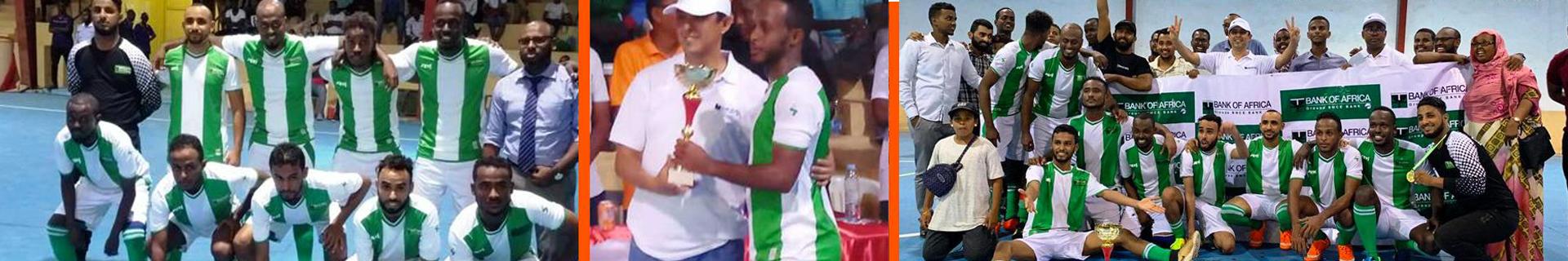 BANK OF AFRICA – MER ROUGE remporte un tournoi de Futsal